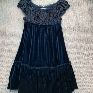 Formal Jona Michelle Size 5 Blue and Black Dress